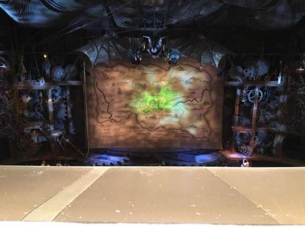 Gershwin Theatre, vak: FMEZZ, rij: A, stoel: 109