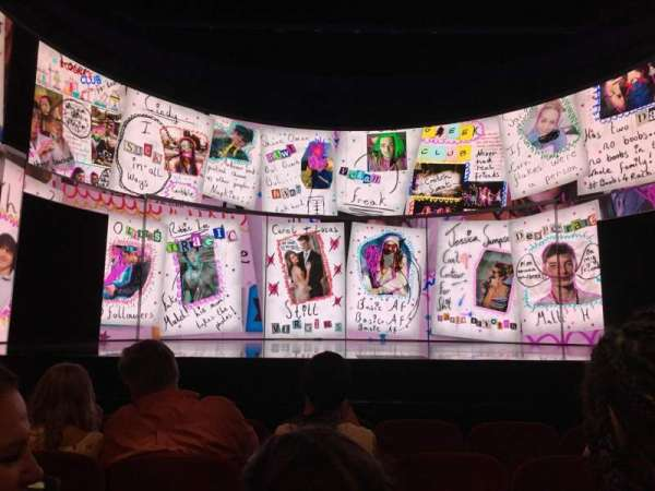 August Wilson Theatre, vak: ORCHC, rij: E, stoel: 109