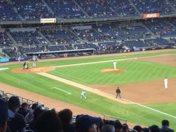 Yankee Stadium, vak: 211, rij: 17, stoel: 2