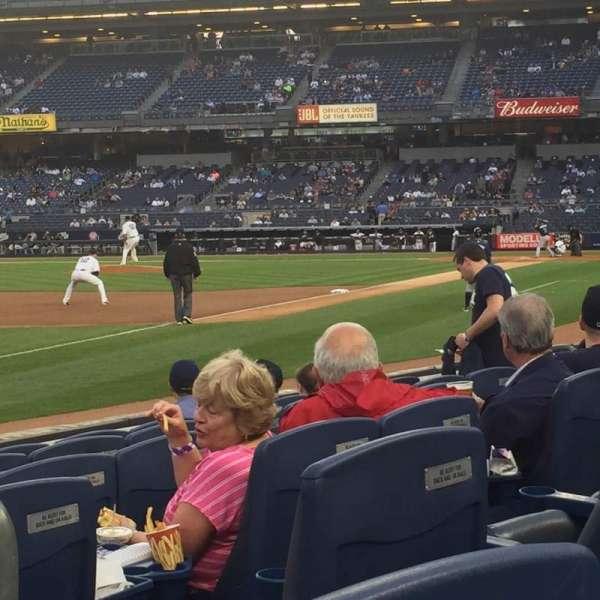 Yankee Stadium, vak: 029, rij: 6, stoel: 2