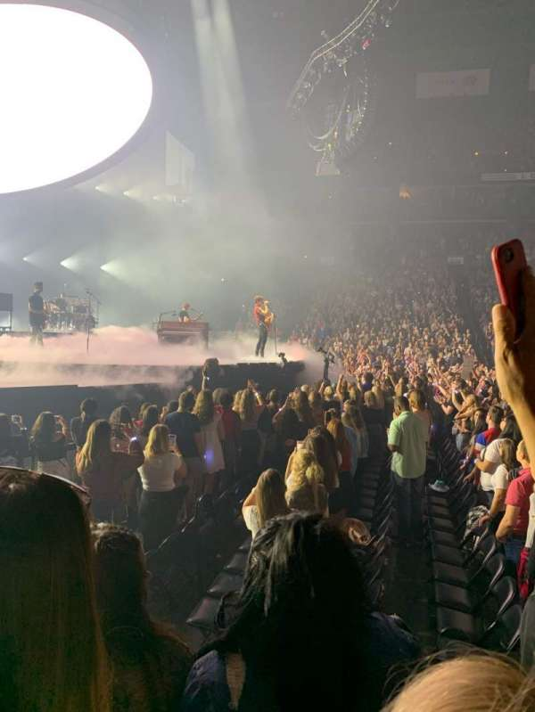 Nationwide Arena, vak: 116, rij: C, stoel: 7