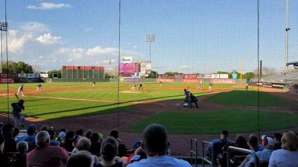 Perfect Game Field, vak: 113, rij: J, stoel: 11