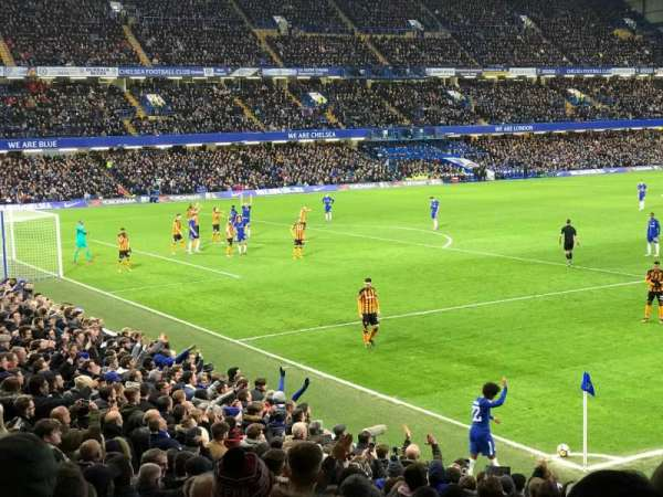 Stamford Bridge, vak: MATTHEW HARDING LOWER, rij: W, stoel: 359