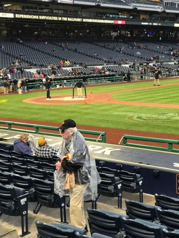 PNC Park, vak: 110, rij: A, stoel: 1