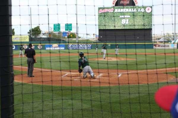 Sahlen Field, vak: 102, rij: B, stoel: 13