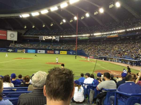 Olympic Stadium, Montreal, vak: 108, rij: NN, stoel: 1