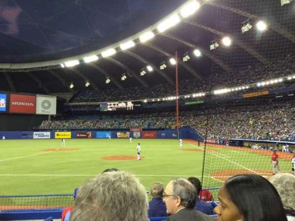 Olympic Stadium, Montreal, vak: 106, rij: KK, stoel: 10