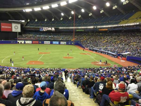 Olympic Stadium, Montreal, vak: 110, rij: T, stoel: 12
