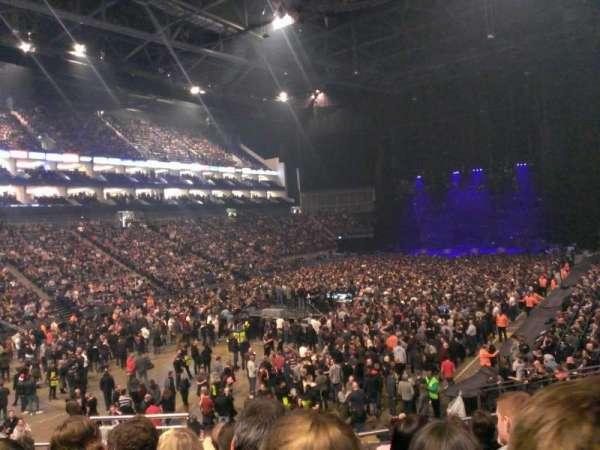 The O2 Arena, vak: 108, rij: U, stoel: 250