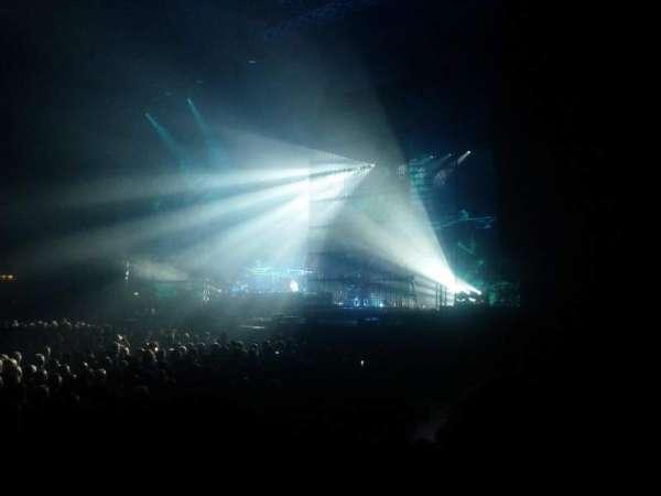 Arena Birmingham, vak: H, rij: F, stoel: 93