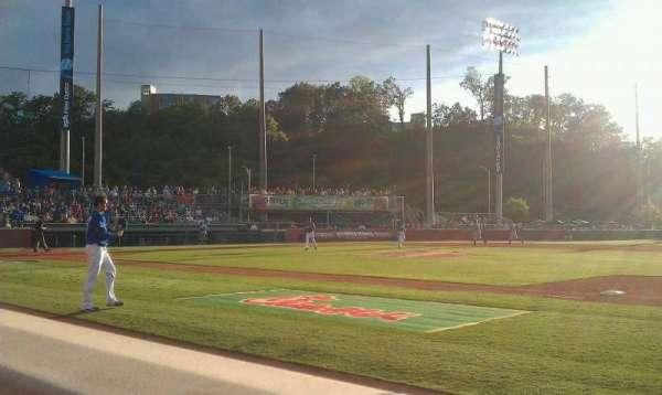 AT&T Field, vak: 105, rij: A, stoel: 7