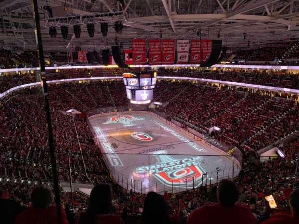 PNC Arena, vak: 316, rij: D, stoel: 11