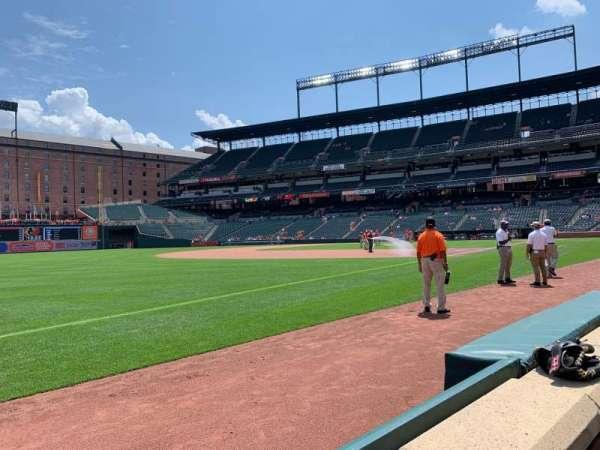 Oriole Park at Camden Yards, vak: 64, rij: 1, stoel: 2