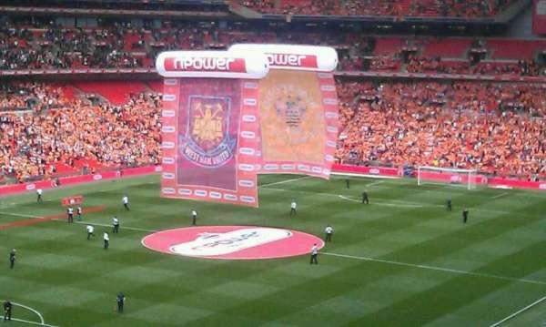 Wembley Stadium, vak: Pitch View Restaurant West