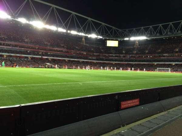 Emirates Stadium, vak: 20, rij: 1, stoel: 604