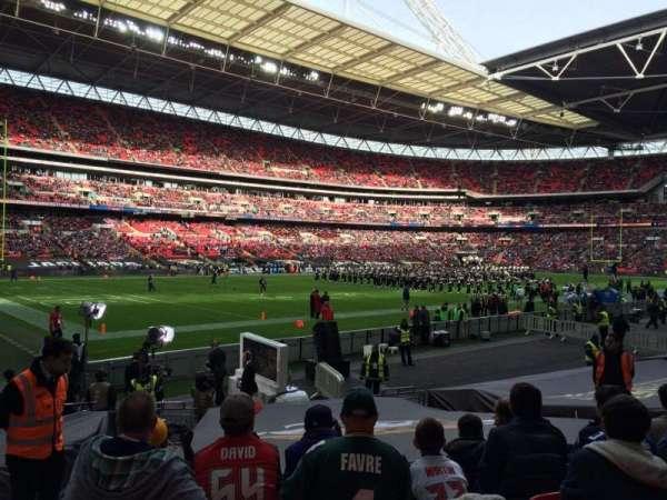 Wembley Stadium, vak: 128, rij: 16, stoel: 150