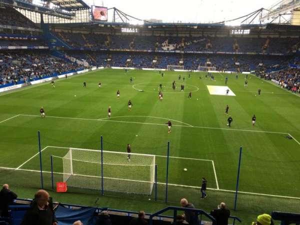 Stamford Bridge, vak: 4 Upper, rij: 11, stoel: 130