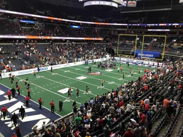 Capital One Arena, vak: 211, rij: A, stoel: 1