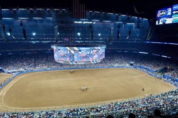 NRG Stadium, vak: 535, rij: L, stoel: 12