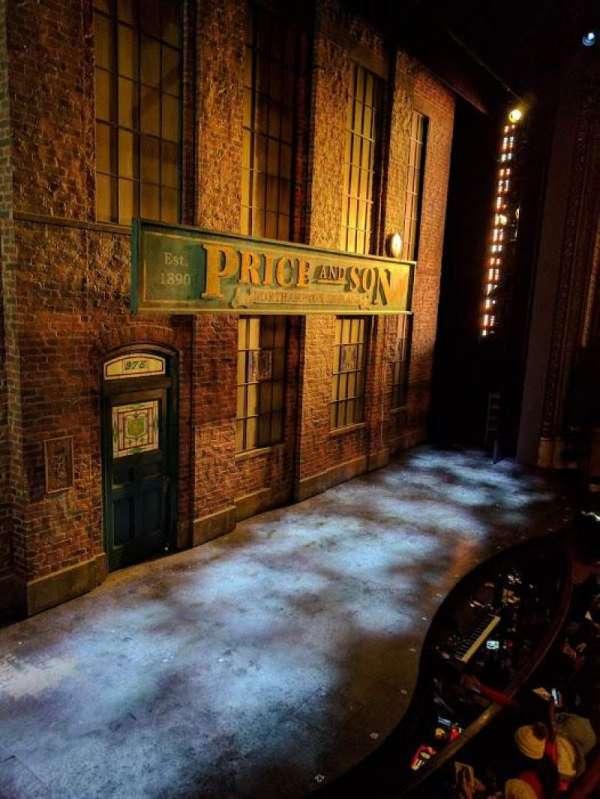 Al Hirschfeld Theatre, vak: Left Box, rij: B, stoel: 3