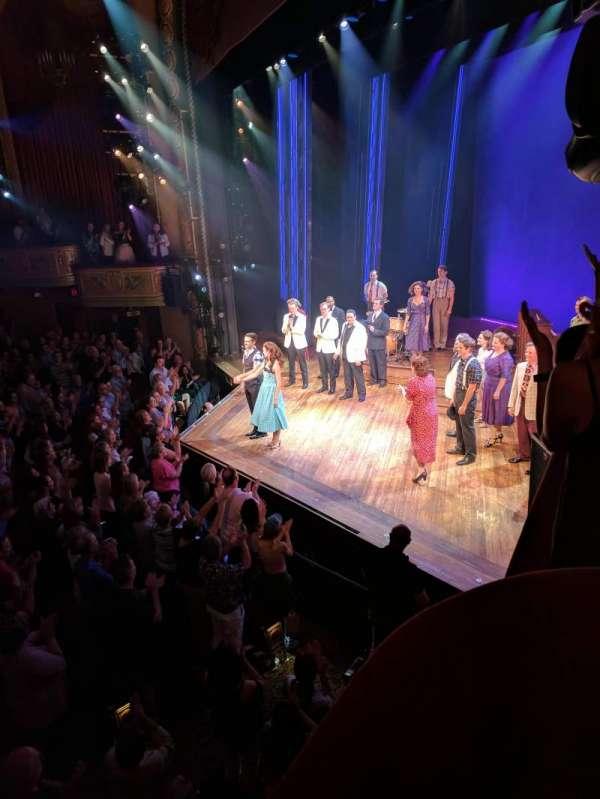 Bernard B. Jacobs Theatre, vak: BOXES, rij: C, stoel: 3