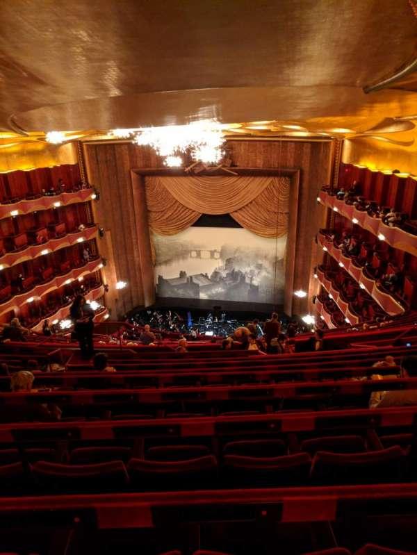 Metropolitan Opera House - Lincoln Center, vak: Family Circle, rij: J, stoel: 212