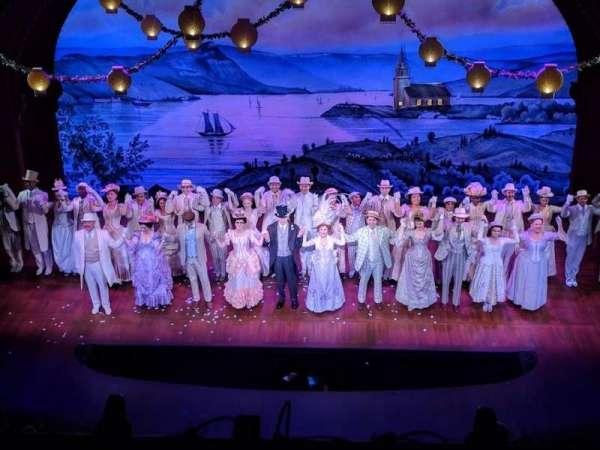 Shubert Theatre, vak: BALC, rij: A, stoel: 106