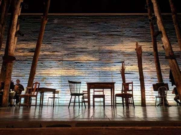 Gerald Schoenfeld Theatre, vak: Orchestra C, rij: AA, stoel: 108