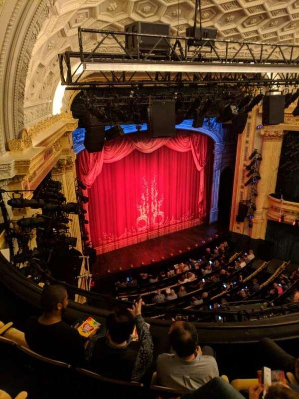 Hudson Theatre, vak: Balcony, rij: D, stoel: 15