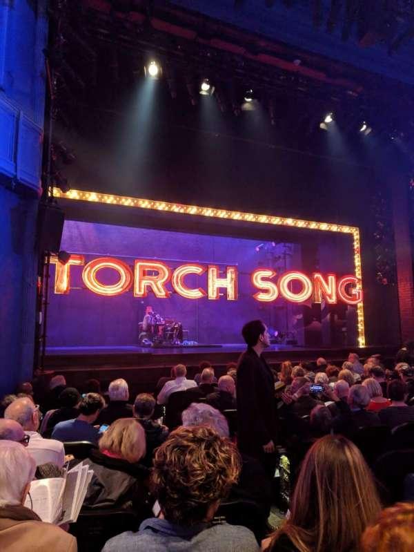 Hayes Theater, vak: ORCHO, rij: L, stoel: 5