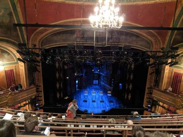 American Airlines Theatre, vak: Mezzanine, rij: G, stoel: 118