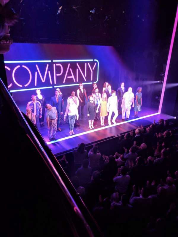 Gielgud Theatre, vak: Dress Circle, rij: A, stoel: 31