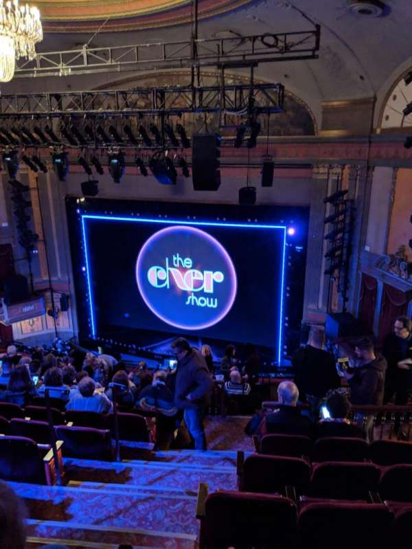 Neil Simon Theatre, vak: Mezzanine, rij: O, stoel: 4
