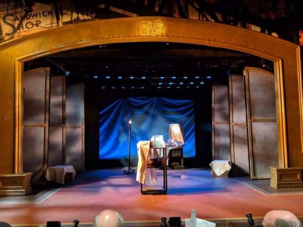 York Theatre, vak: Orchestra, rij: C, stoel: 7