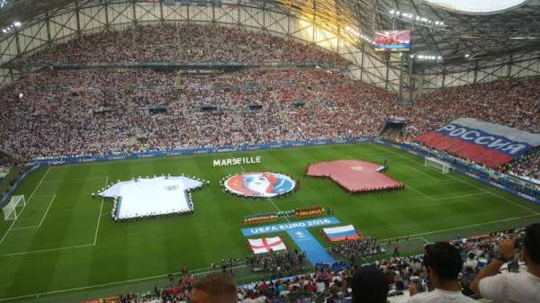 Stade Vélodrome, vak: T, rij: 62
