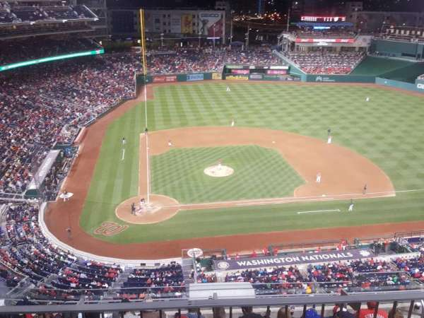 Nationals Park, vak: 317, rij: L