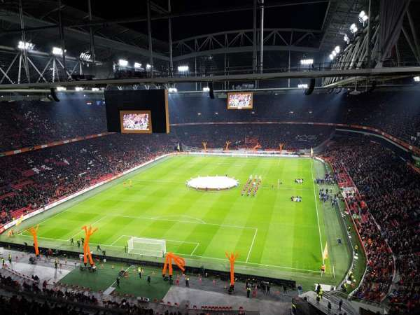 Amsterdam Arena, vak: 412, rij: 26