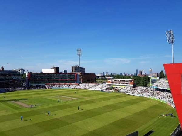 Old Trafford Cricket Ground, vak: Upper Tier, rij: Back Row