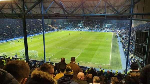 Hillsborough Stadium, vak: Leppings Lane, rij: 32, stoel: 142