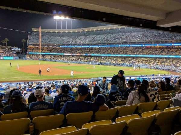 Dodger Stadium, vak: 31FD, rij: W, stoel: 7