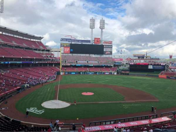Great American Ball Park, vak: CLBCAM, rij: GA