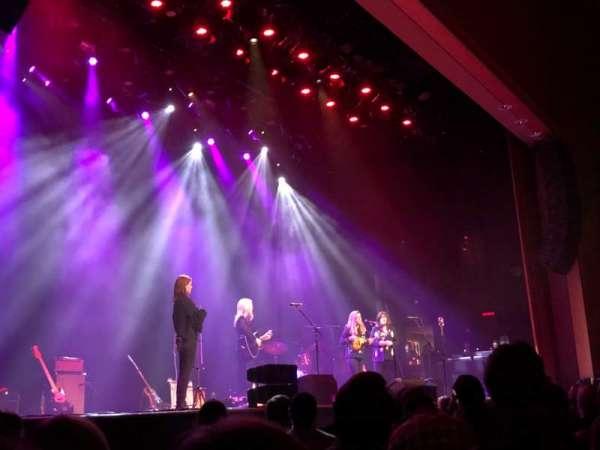 Ryman Auditorium, vak: 8, rij: M, stoel: 1