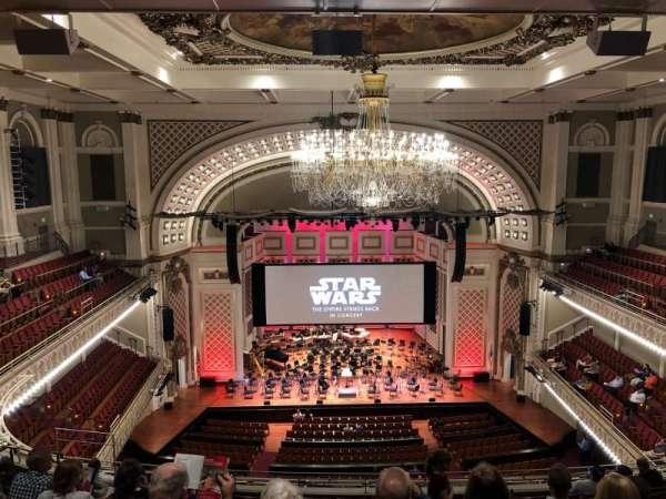 Cincinnati Music Hall, vak: GAL 4, rij: K, stoel: 412