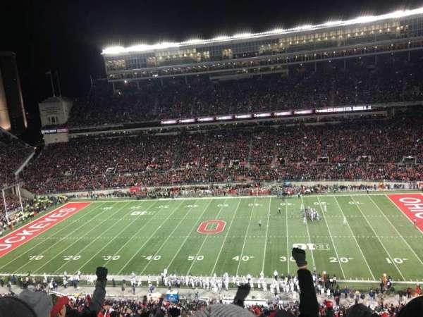 Ohio Stadium, vak: 20C, rij: 16, stoel: 6