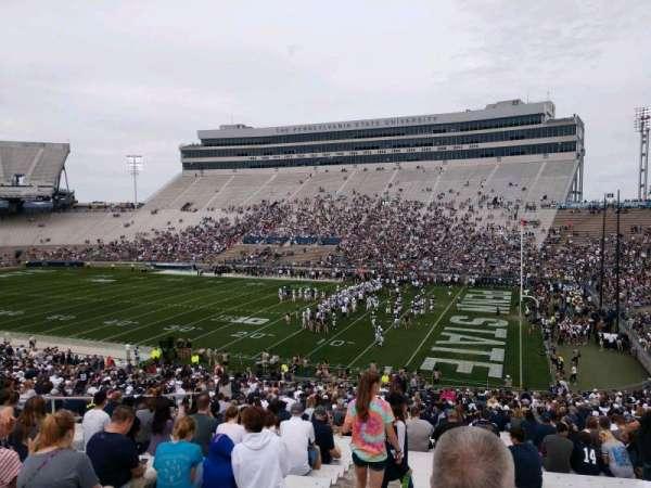 Beaver Stadium, vak: WA, rij: 33, stoel: 1