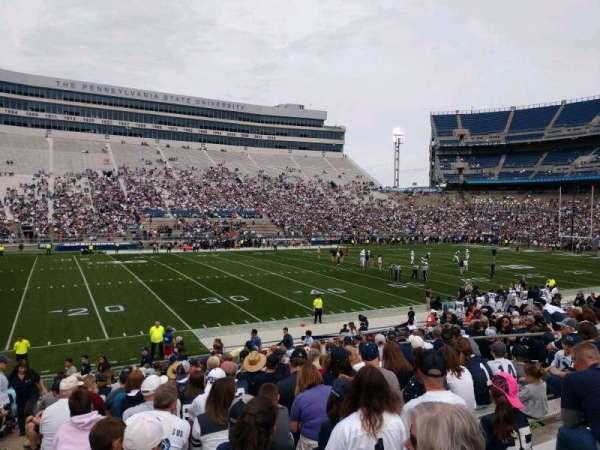 Beaver Stadium, vak: WG, rij: 5, stoel: 1