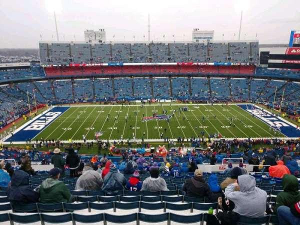 New Era Field, vak: 334, rij: 29, stoel: 12