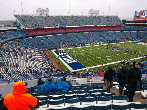New Era Field, vak: 339, rij: 22, stoel: 4