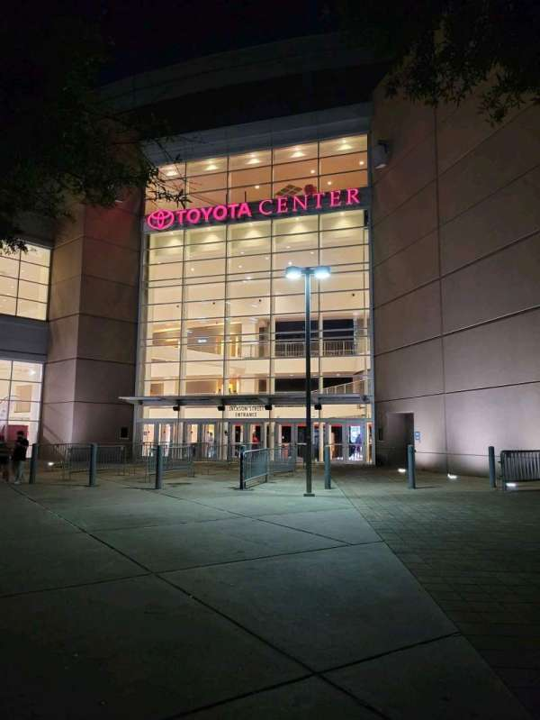 Toyota Center, vak: Jackson Street Entrance