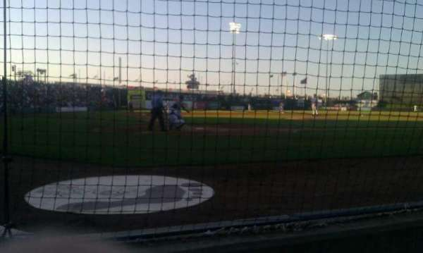 CommunityAmerica Ballpark, vak: 101, rij: 2, stoel: 2